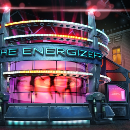 The Energizer - attraction - paintover