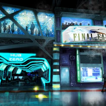 Final Fantasy/ Retail - external - paintover