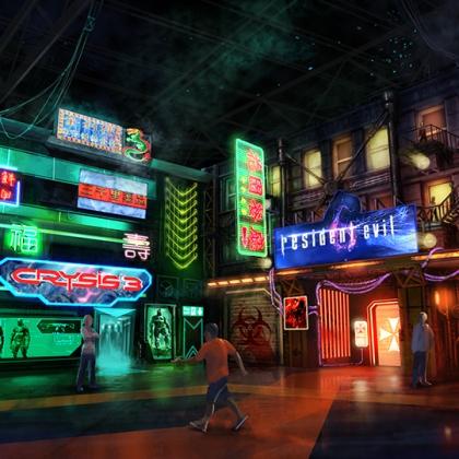 Resident Evil - external - paintover