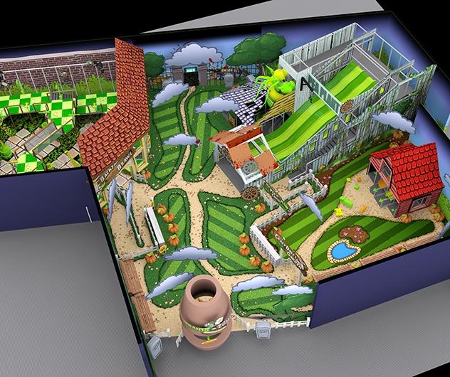 Plants vs Zombies - Overview - 3D design
