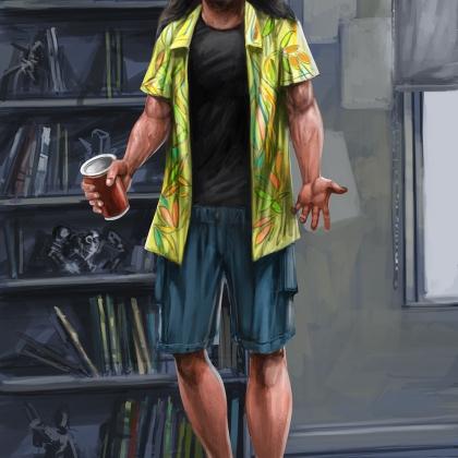 ETU - Kickstarter backer reward portrait