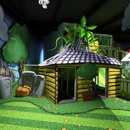 Plants vs Zombies - Slides - 3D design
