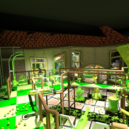 Plants vs Zombies - Soft play - shooters - 3D design
