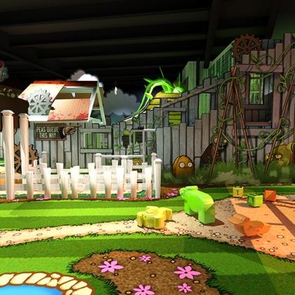 Plants vs Zombies -Younger children play area - 3D design