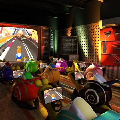 Turbo Racing - render - 3D design